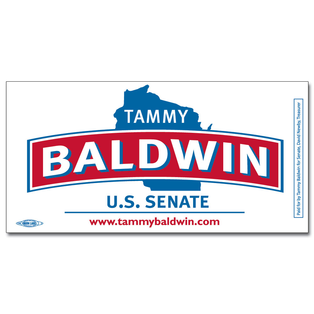 Tammy Baldwin Bumper Sticker